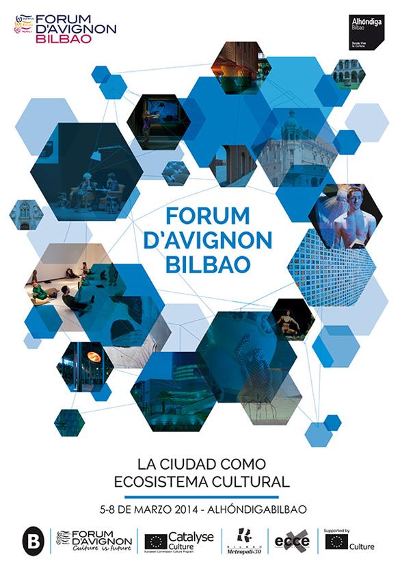Cartel Forum d'Avignon en Azkuna Zentroa