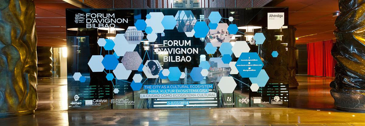 Forum d'Avignon en Azkuna Zentroa