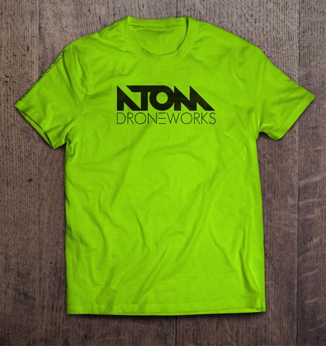 Camiseta ATOM Droneworks